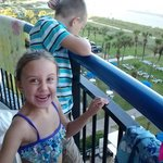Grandkids loved the view from the room!