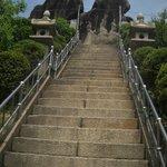 """Seonbawi Rock in Korean means """"Zen rocks"""""""