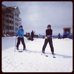 Ski Time on the Bunny Slope