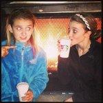 Starbucks and warm fire