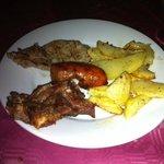grigliata mista con patate