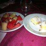 frutta con ciambella