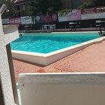 La piscina vista dal nostro balcone
