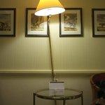 Lamp is seasick