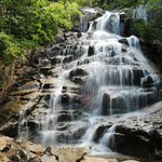 Cloudland Falls on the Falling WatersTrail