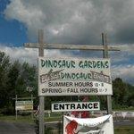 Road Sign @ Dinosaur Gardens