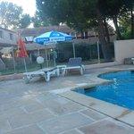 piscine de l' hôtel !