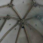 Gothic ceiling.