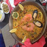 Best paella in majorca and Steven was the best waiter such a lovely guy made us girls feel very