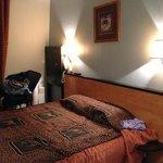 La camera 604