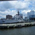 Battleship Wisconsin at Nauticus