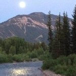 Moon over the Hoback