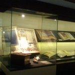 """Interior de la exposición """"Templum Libri"""""""