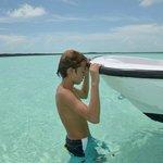 Beautiful shallow water