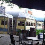 Old fashioned Diner - serves great malted and sandwiches