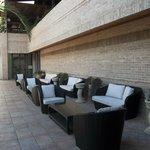 Lounge zone e fontane