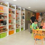 espace accueil et boutique de l'Office de Tourisme