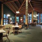Lodge inside Lobby
