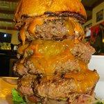 The Big Challenge 2lb Burger, 1Lb Loaded Fries, 64 Oz Soda, 13 Minutes...Can You Beat It ????