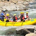 Fun in the rapids!