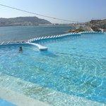 La piscina d'acqua salata