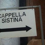 entrance to sistine chapel