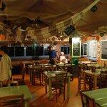 Le restaurant vue intérieure