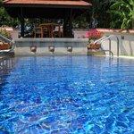 Pool of the villa