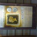 The famed Black Penny Stamp!