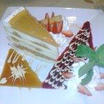 The caramel crunch cake!!!