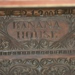Banana House entrance door
