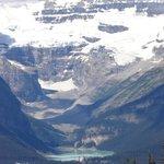 Lake Louise and surrounding mountains