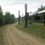 Oil Pipeline that passes near Fairbanks