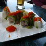 Crab and Lobster Sushi