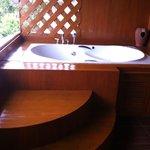 Jacuzzi bath balcony
