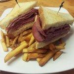 hotcorned beef sandwich