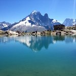 Hiking around Chamonix, Lac Blanc
