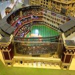 Texas Ranger Stadium Lego Style