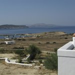View of Parianos port and Kato koufonisi from Iliovasilema stds
