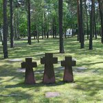 Kriegsgräeberstäette Waldfriedhof Halbe