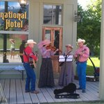 Local band playing at Fort Steele July 2013