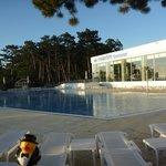 26 meter outdoor lap pool