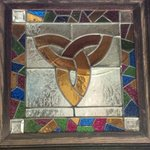 Stain Glass by the bar