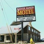 Silver Sands sign