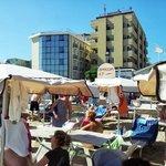 Vista Hotel dalla spiaggia 47