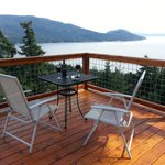 Great views from your private deck