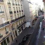 Rue du Bac from our room