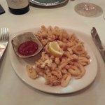 Crispy tender calamari