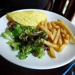 Omelette Forestier (not bad)