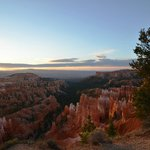 sunrise over the hoodoos